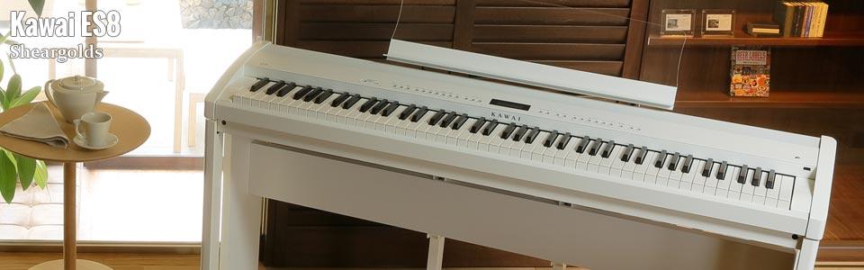 Kawai ES8 digital piano from Sheargolds