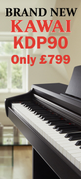 Kawai KDP90 digital piano from Sheargold Music with free Nationwide delivery