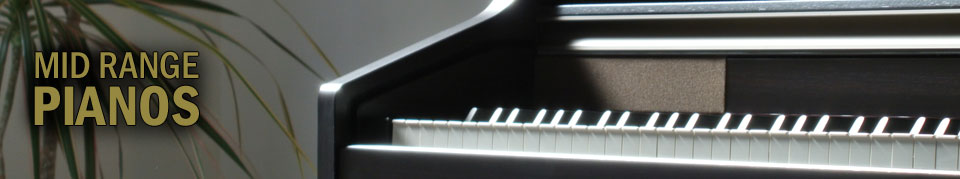 Mid Range Digital Pianos from SheargoldMusic.co.uk