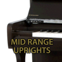 Mid Range Upright Pianos