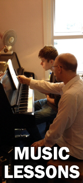 Music lessons at Sheargold Pianos, Cobham call 01932 866577