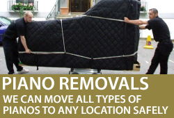 Piano removals from Sheargold Music