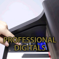 Professional digital pianos