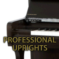 Professional Upright pianos