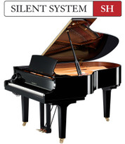 "Yamaha C3X SH 6'1"" Silent Grand Piano"
