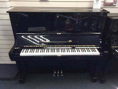 Yamaha U3 Ebony Gloss Upright Piano