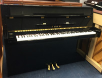 Yamaha B1 Black Upright Piano