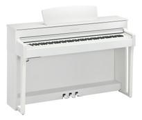 Yamaha CLP645WH White Satin Clavinova Digital Piano