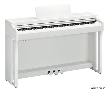 Yamaha CLP635 White Satin Digital Piano
