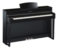 Yamaha CLP675 Polished Ebony Digital Piano