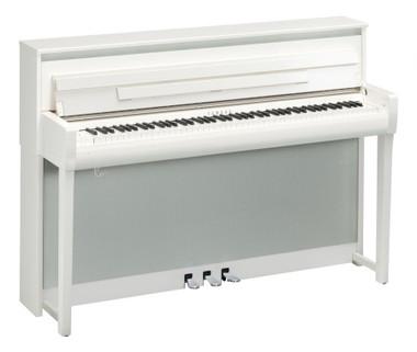 Yamaha CLP685WH White Finish Digital Piano
