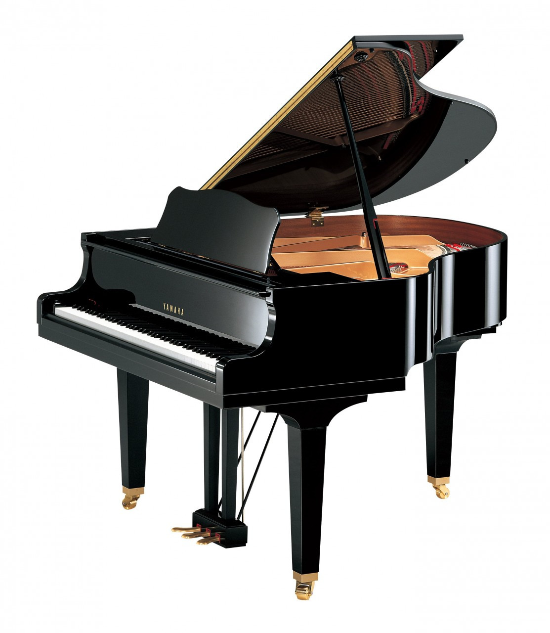 Yamaha gb1k yamaha grand pianos yamaha baby grand pianos for How big is a grand piano