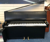 Schimmel 112S Black Satin Upright