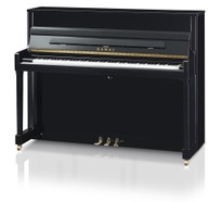 The brand new Kawai K200 upright piano from Sheargold Pianos