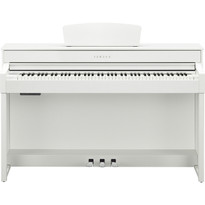 Yamaha CLP535WH White Satin Digital Piano Clavinova