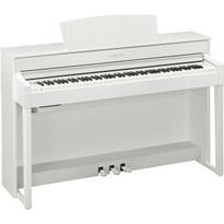 Free Nationwide delivery on the Yamaha CLP575WH White Satin digital piano from Sheargold Music