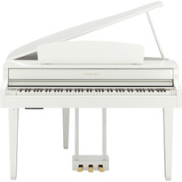 Free Delivery on the Yamaha CLP565GPWH digital piano from Sheargold Music