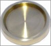 Brass Castor Cups from Sheargold Pianos