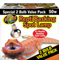 Repti Basking Spot Lamp Value Pack 50 Watt