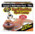 Repti Basking Spot Lamp Value Pack 75 Watt