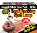 Repti Basking Spot Lamp Value Pack 100 Watt