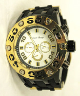 2035 mens ocean deep silicone band watch