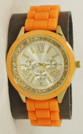 7075T Ladies silicone band watch