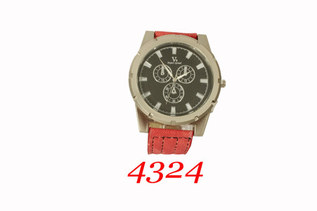 4324 Men's Leather band. V9 Super Speed.