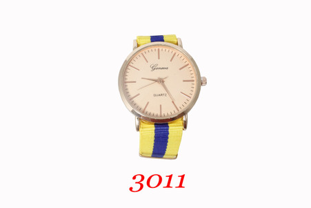 Geneva Nylon band Watch