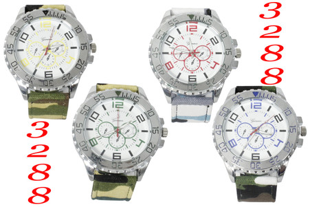Geneva Army Style Watch