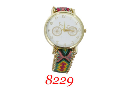 8229 Ladies Pull string band Watch