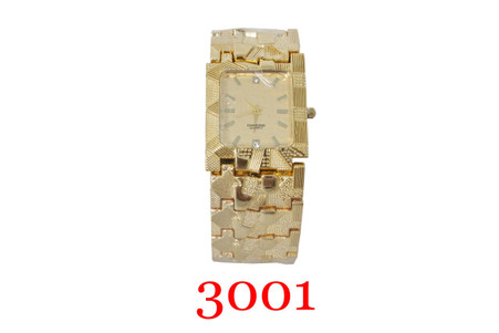 3001 Men's Gold-tone Metal Watch
