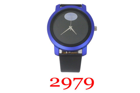 2979 UniSex Leather Band Watch