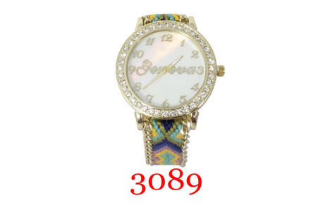 Geneva. Ladies Pull String Band Watch