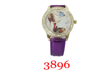Ladies Leather band with design dials.