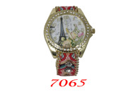 7065 Ladies Pull String Band Watch