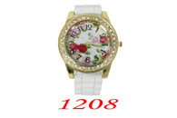 1208 Ladies Silicone Band Watch