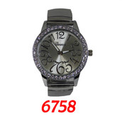 6758 Geneva Ladies Stretch Metal Band