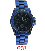 031 Geneva Ladies Metal Band Watch