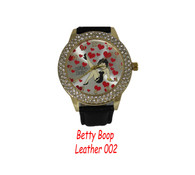 Ladies Betty Boop Leather 002