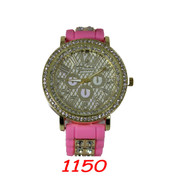 1150 Ladies Silione Bullet Band Watch