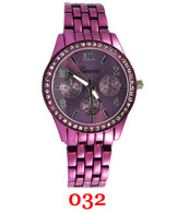 032 Geneva Ladies Metal Band Watch