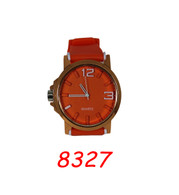 8327 Mens Silicone Band Watch