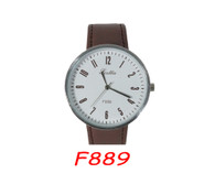 F889 Mens Leather Band Watch