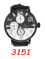 3151 Mens Silcone Band Watch
