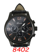 8402 Mens Leather Band Watch