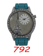 792 Ladies Silicone Band Watch