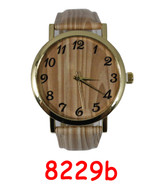 8229b Ladies Leather Band Watch