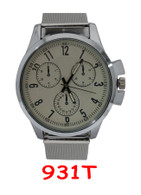 931T Mens Metal Mesh Band Watch