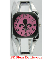 BR Fleur De Lis-001 Ladies Bangle Watch